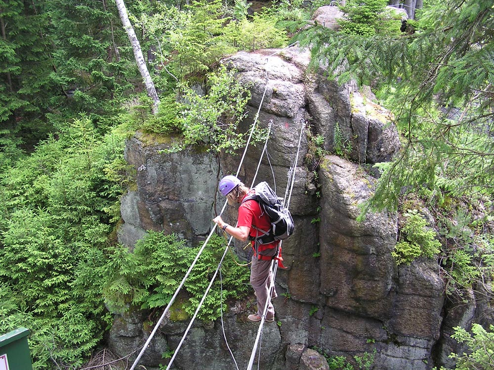 Klettersteig Erlabrunn : Walter keiderling klettersteig in erlabrunn erzgebirge