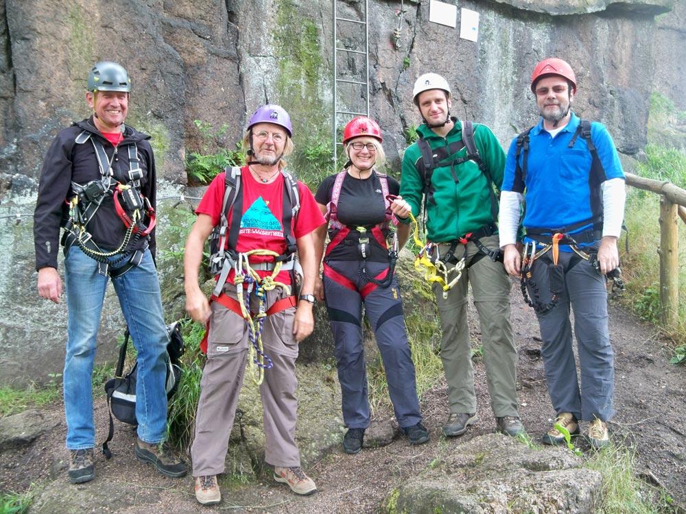 Klettersteig Johanngeorgenstadt : Walter keiderling klettersteig in erlabrunn erzgebirge