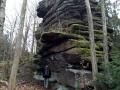 2 Döhlener Stein, Talseite