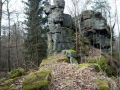 2 Döhlener Stein, Bergseite