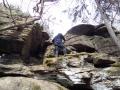 4 Bewachsener Stein, Aufstieg I