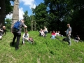 Mittagsrast am Obelisk