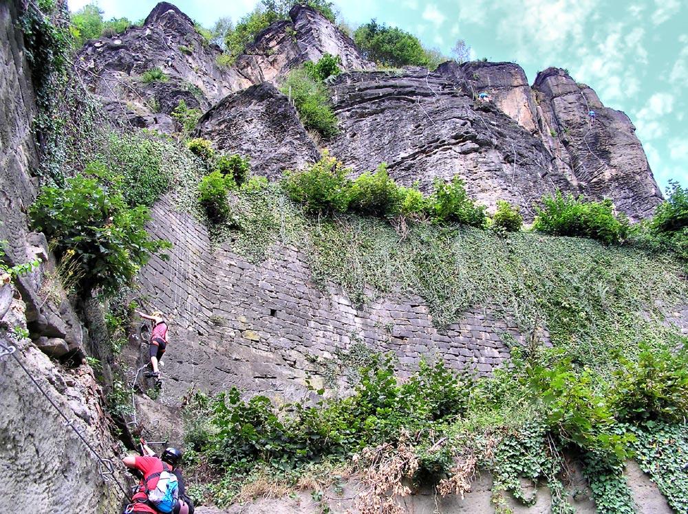 Klettersteig Decin : Klettersteig schäferwand děčín ruebezahlstiege u der stiegen