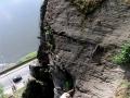 Klettersteig mittlerer Teil