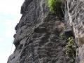 Klettersteig oberer Teil