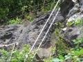 Klettersteig Ausstieg