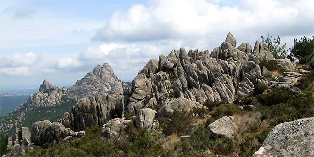 Sardinien - unterwegs am Monte Limbara