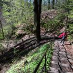 Abstieg in den Uttewalder Grund