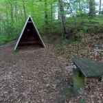 Schutzhütte am Großen Bärenstein