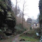 Wanderweg entlang des Grünbachs