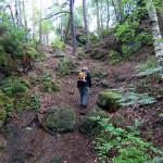 Aufstieg zum Großen Bärenstein