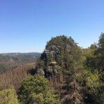 Blick vom Rabentürmchen zum Kleinen Lorenzstein