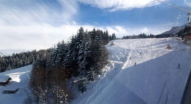 Abfahrt am Kitzbühler Horn - St. Johann in Tirol