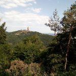 Blick zum Kyffhäuserdenkmal