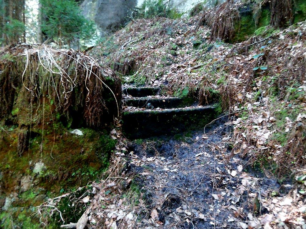Klettersteig Ochelbaude : Der nonnensteig ein klettersteig im zittauer gebirge youtube