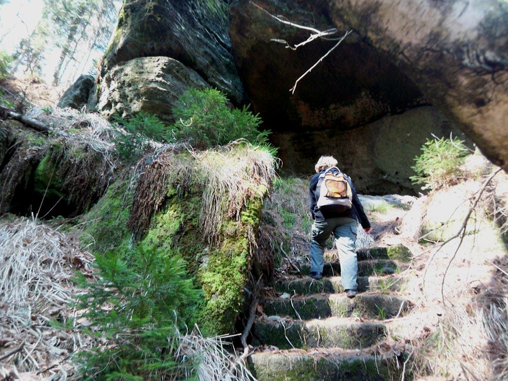 Klettersteig Ochelbaude : Klettersteig beschreibung rübezahlstiege