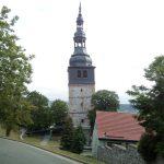 der schiefe Turm zu Bad Frankenhausen