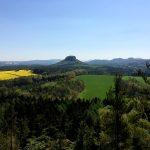 Thürmsdorfer Stein - Gipfelblick