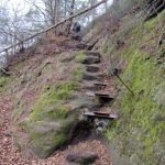 Aufstieg zum Teichstein