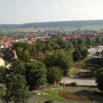 Blick vom Hausmannsturm auf Bad Frankenhausen