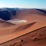Blick vom 'Big Daddy' in die Namibwüste