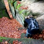 Kletterzugang - Abstieg zum Unteren Fremdenweg