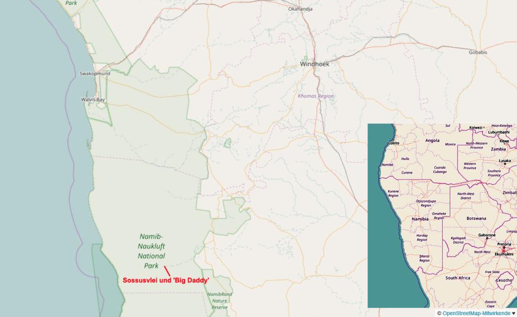 OpenStreet Map Kartenausschnitt – Copyright: Creative Commons Attribution Share Alike-Lizenz 2.0