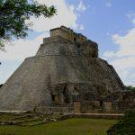 Pyramide des Zauberers in Uxmal (Mexiko)