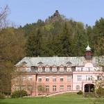 am Kindererholungsheim in Dittersbach