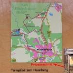 Anfahrt und Wanderweg zum Haselberg