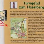 Offizielle Beschreibung des Turmpfades