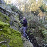 Klettersteig Apollofalter - Einstieg