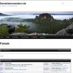 Website Sandsteinwandern.de