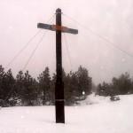 Gipfels des Bornhauberges