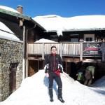Start an der Chamer Hütte