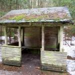 Schutzhütte am Abzweig Richterschlüchte