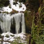 Eisfall im Sommersloch