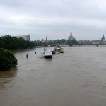 Blick von der Albertbrücke-04.06.2013