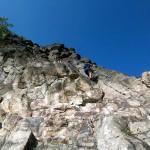 Klettersteig Riesenboulder