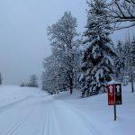 viel Schnee im Januar 2018 - Loipen am Wilden Kaiser