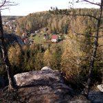 Blick vom Stelzchen auf Nikolsdorf