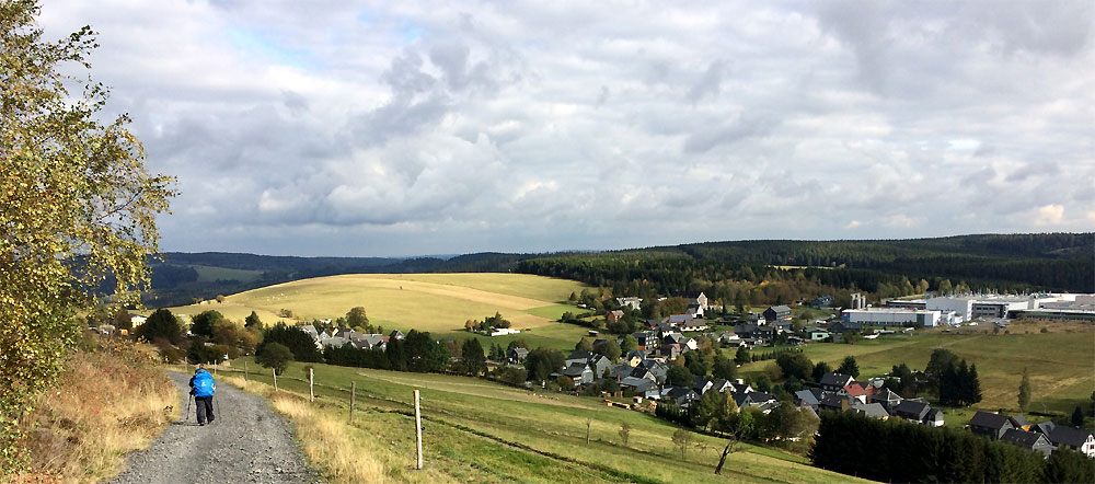 Blick auf Spechtsbrunn