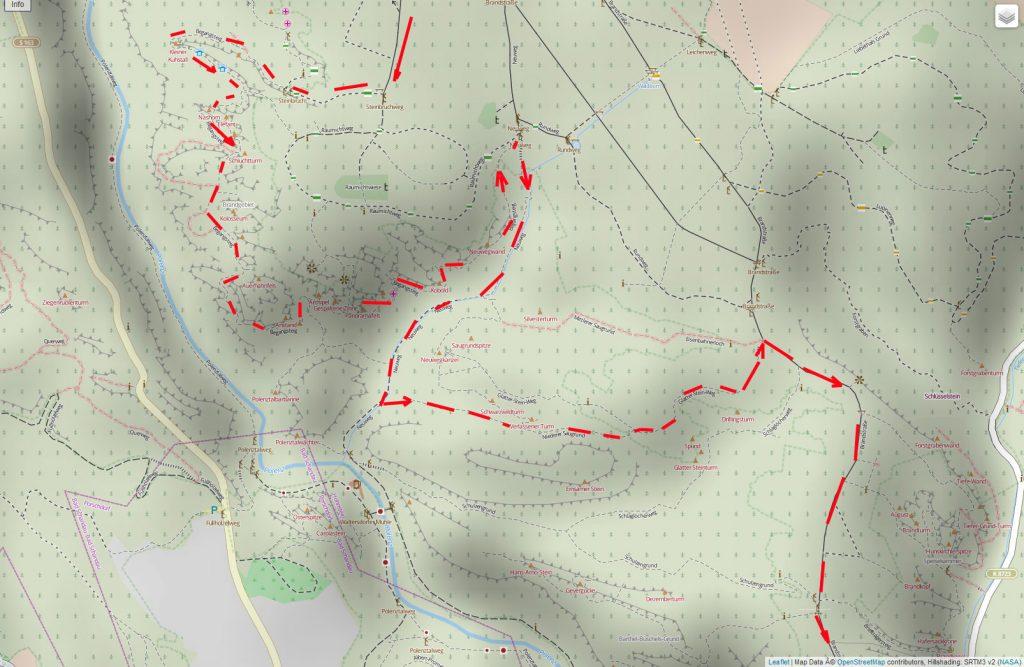 Open Street Map Kartenausschnitt – Copyright: Creative Commons Attribution Share Alike-Lizenz 2.0