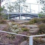 2017 - 'Stahlwege' auf dem Gipfelplateau der alten Burganlage