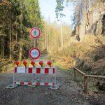 Zschandstraße gesperrt