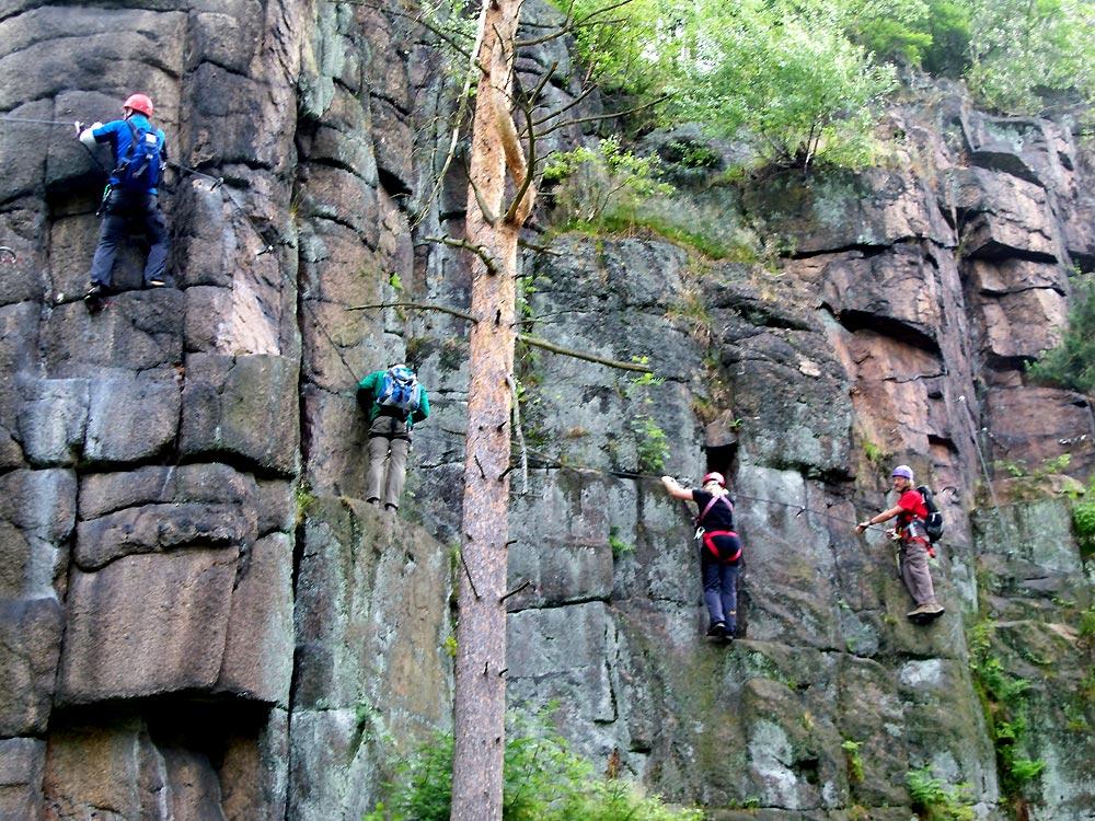 Klettersteig Erlabrunn : Klettersteig erlabrunn juni