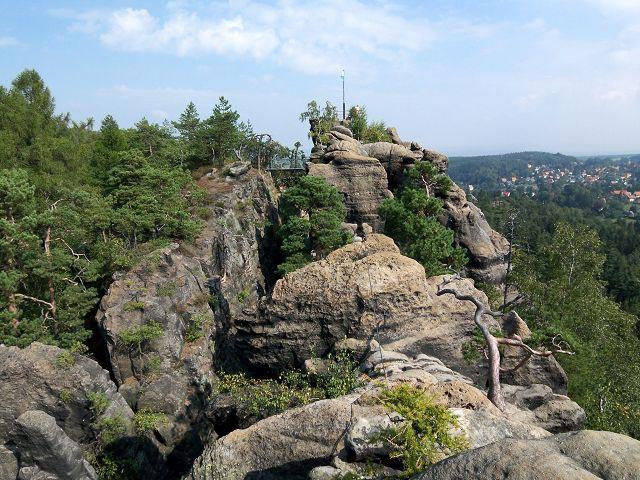 Klettersteig Jonsdorf : Klettersteig nonnensteig im zittauer gebirge