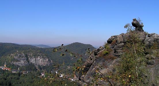 Klettersteig Jonsdorf : Funweb zittauer gebirge wanderungen und klettersteige