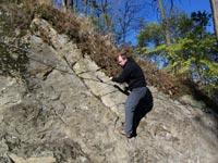 Klettersteig Jonsdorf : Klettersteige riesenboulder und apollofalter am spitzberg
